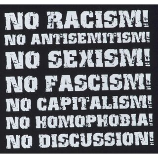 Girly - No Racism! No Antisemitism! No Sexism!
