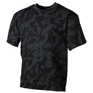 MFH - US T-Shirt - night-camo XL