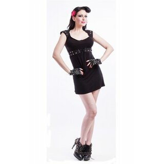 Necessary Evil - Gothic Studded Sin Dress