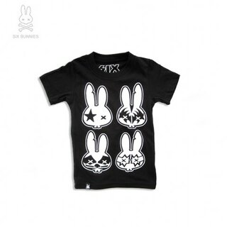 Six Bunnies - T-Shirt - Rock Bunnies