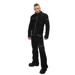 Necessary Evil - Lothur Mens Zip and Pyramid Stud Jeans