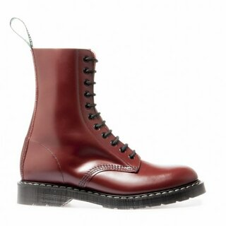 Solovair - 11-Loch - Derby Boot - oxblood