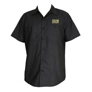 Sun Records - Hemd - Hop Workershirt - schwarz