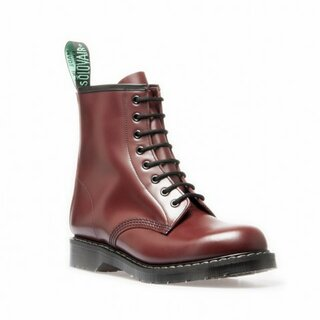 Solovair - 8-Loch - Derby Boot - oxblood 5 = 38